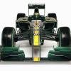 ロータスT127(正面) (2010 F1)  (c)Lotus F1 Racing