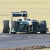 ロータスT127(シェイクダウン1) (2010 F1)  (c)Lotus F1 Racing