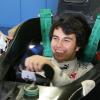セルジオ・ペレスのシート合わせ(1) (2010 F1)  (c)Sauber