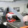 可夢偉が新車C30でシート合わせ(2) (2010 F1)  (c)Sauber