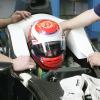 可夢偉が新車C30でシート合わせ(4) (2010 F1)  (c)Sauber