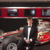 若手ドライバーに贈られるマクラーレン・オートスポーツBRDC賞は、フォーミュラ・ルノーUKドライバーのオリバー・ローランドが輝いた (2011年AUTOSPORTアワード)  (c)LAT