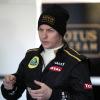 ライコネン、黒&金のR30でF1テストを開始!(2)  (c)Lotus