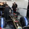 ライコネン、黒&金のR30でF1テストを開始!(7)  (c)Lotus