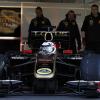ライコネン、黒&金のR30でF1テストを開始!(8)  (c)Lotus