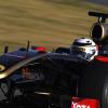 ライコネン、黒&金のR30でF1テストを開始!(10)  (c)Lotus