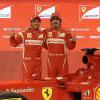 アロンソ&マッサ(4) (2011 フェラーリ新車発表)  (c)Ferrari