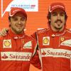 アロンソ&マッサ(5) (2011 フェラーリ新車発表)  (c)Ferrari