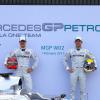 メルセデスGP、新シルバーアロー「MGP W02」を発表(2) (2011 メルセデスGP新車発表)  (c)MercedesGP