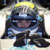 ニコ・ロズベルグがステアリングを握ったメルセデスGP W02のバレンシアでの初走行(1) (2011 F1バレンシアテスト)  (c)MercedesGP