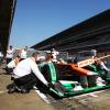 ポール・ディ レスタ(フォースインディアVJM05) バルセロナテスト4日目  (c)Force India F1
