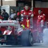 フェリペ・マッサ(フェラーリF2012) バルセロナテスト4日目  (c)LAT
