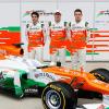 Fインディアも段差ノーズの新車「VJM05」を披露 (2012 F1新車発表)  (c)LAT