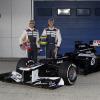 ウィリアムズFW34 (2012 F1新車発表)  (c)LAT