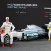 メルセデスAMG、新車W03を正式に披露  (c)Daimler