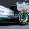 メルセデスAMG、新車W03を正式に披露  (c)LAT